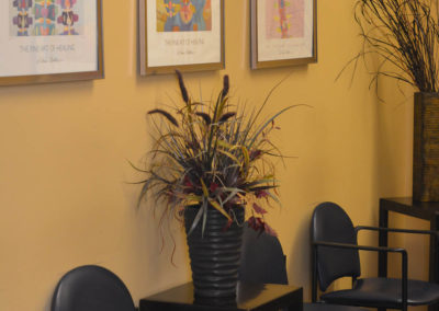 Chiropractic Physical Therapy waiting area